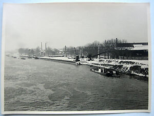 Grande photo 1946 paris bord de seine usine conquet - Usine a vendre paris ...
