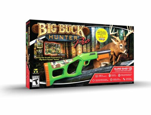 Sure Shot HD Big Buck Hunter® Pro Video Game System™