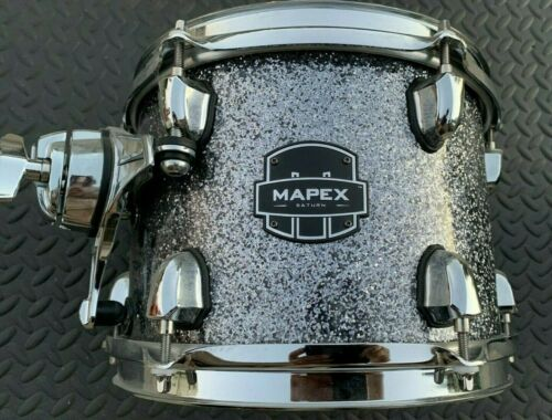 "Mapex Saturn Maple / Walnut 10"" Tom - Granite Sparkle"