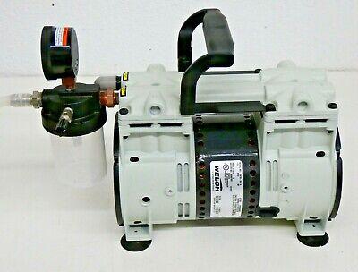 Welch Vacuum 2567b-50 Standard Duty Laboratory Piston Vacuum Pump 115v 13 Hp