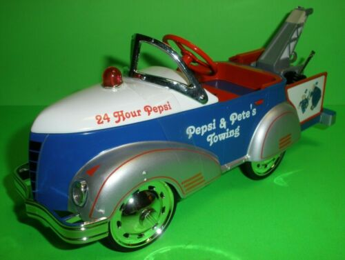 PEPSI COLA 1940 GENDRON PIONEER PEDAL CAR WRECKER TOW DIECAST 1:6 Scale