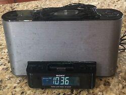 Sony Dream Machine ICF-CS10iP AM/FM Clock Radio iPod/iPhone Dock