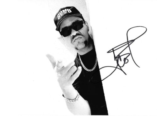 * ICE-T * signed autographed 8x10 photo * BODY COUNT * LAW & ORDER * PROOF 14