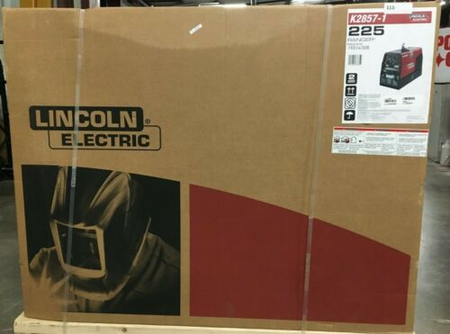 Lincoln Ranger Welder Generator, Multi Process 225 Engine Gas Driven K2857-1