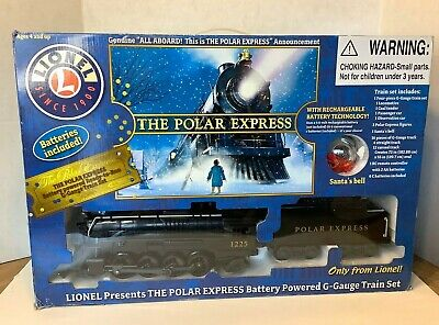 Lionel THE POLAR EXPRESS G GAUGE Train Set 7-11176 Christmas Holiday Train