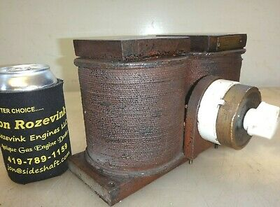 E.s. Cowie Magneto Charger For Recharging Old Auto Tractor Engine Mag Original