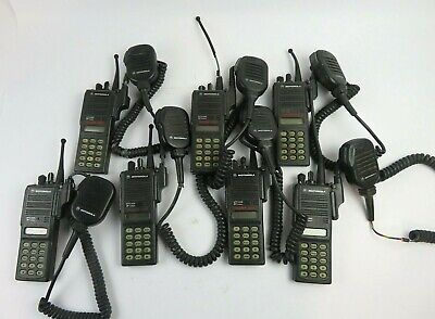 Motorola Mts2000 Flashport H01uch6pw1bn 16channel 2way 800mhz Radio Lot Of 7