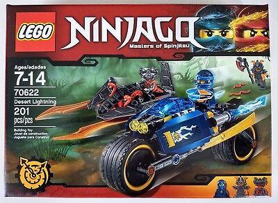 LEGO 70622 Ninjago Desert Lightning ~ NEW in SEALED Box ~ Retired Set