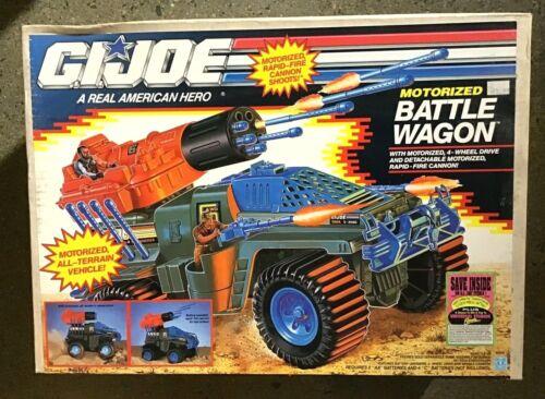 Vintage G.I. Joe Motorized BATTLE WAGON Sealed Box 1991 Hasbro