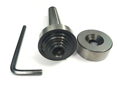 Slitting Saw Holder Arbor Mt-3 Shank For Slit Discs Milling -m12 X 1.75 Drawbar