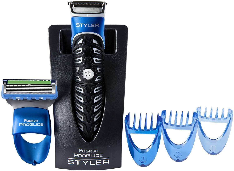 Beard Trimmer,Men's Razor & Edger – Fusion Razors for Men Gillette Styler 3 in 1 Home & Garden