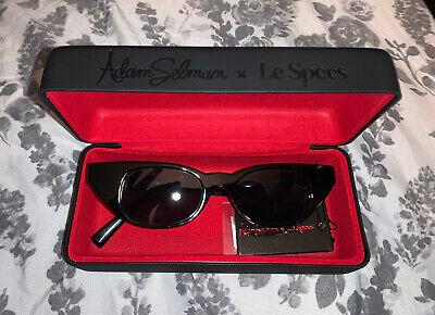 NEW Adam Selman X Le Specs The Breaker Designer Sunglasses Cat Eye Small