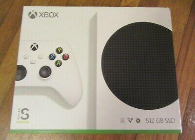 Microsoft Xbox Series S 512GB Video Game Console - White ALL DIGITAL Brand New