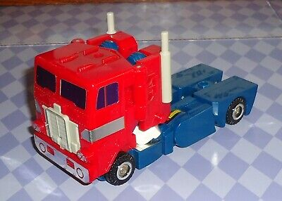 G1 TRANSFORMERS POWERMASTER OPTIMUS PRIME + HI-Q FREE SHIPPING
