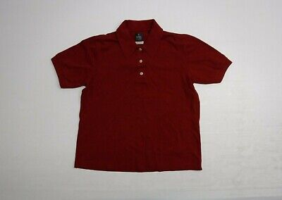 Callaway Golf Apparel Polo Shirt Mens Small Red Short Sleeve Great Condition