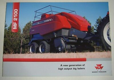 Massey Ferguson . MF 2100 . February 2007 Sales Brochure