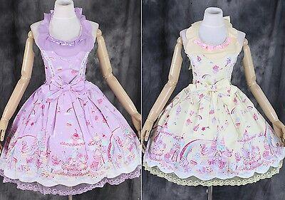 M-07 S/M/L/XL/XXL Milky Planet Lolita JSK Cosplay Kleid dress Kostüm Harajuku
