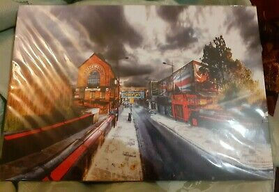 Camden market London art photo. new . 21cm x 29cm. ideal gift. new in wrapper