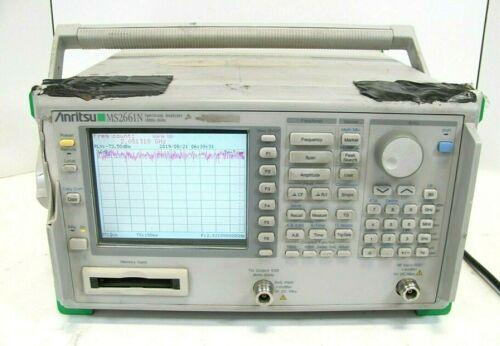 Anritsu MS2661N Spectrum Analyzer 100Hz - 3GHz
