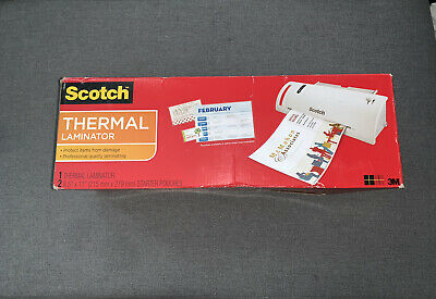New Scotch Tl901c Thermal Laminator 2 Roller System