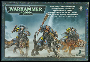 Warhammer 40K Space Wolves Thunderwolf Cavalry New and Sealed