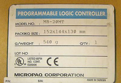 Kb Electronics Mb 20mt Micropaq Programmable Logic Controller