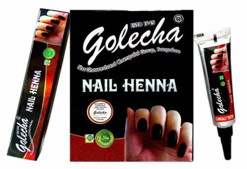 Golecha Nail Henna Long Lasting No Harmful Chemicals - 1 Box