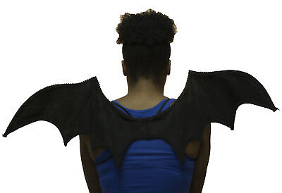 Halloween Costume Accessory Bat Wings with Elastic Straps
