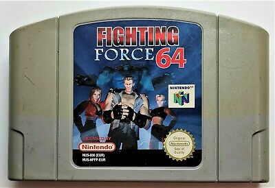 Fighting Force 64 Video Game for Nintendo N64 PAL TESTED