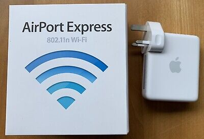 Apple Airport Express 802.11n A1264 AirPlay Wi-fi Extender Router MB321B/A