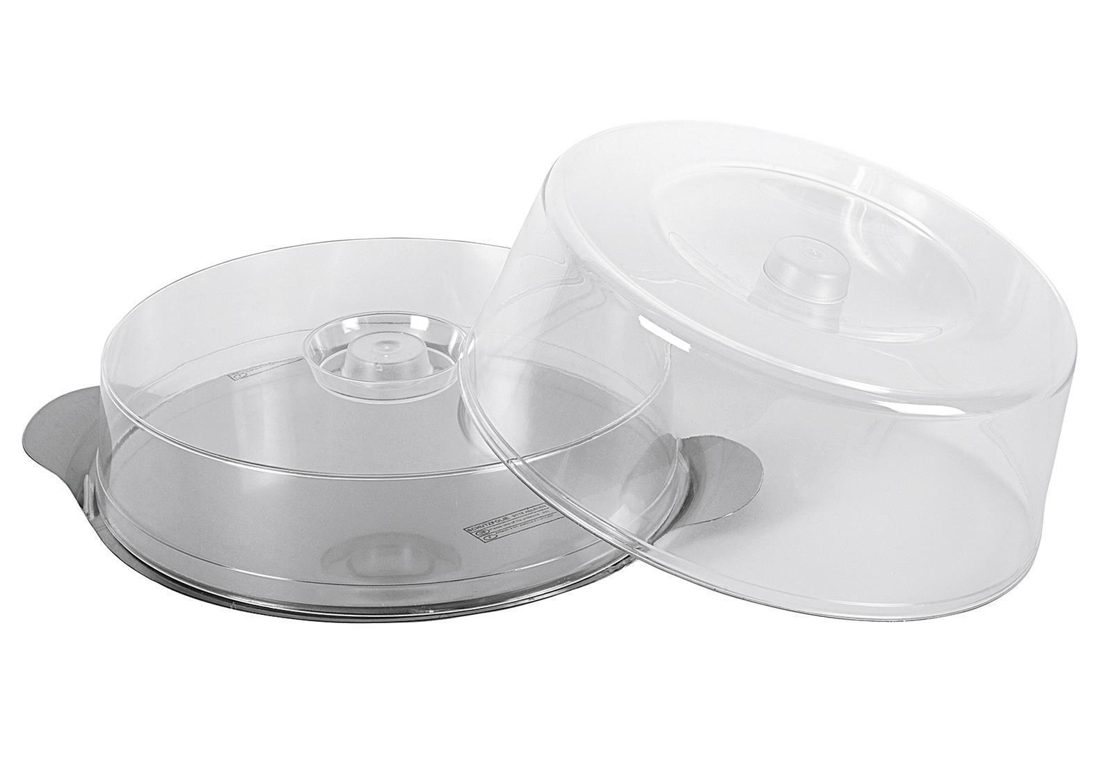 Acrylglas sp/ülmaschinengeeignet 30 cm Haube f/ür Tortenplatte WMF Tortenhaube