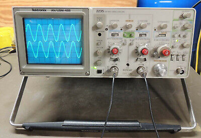 Tektronix 2235 Anusm488 100mhz Oscilloscope  Cald Inc Probesmanualscd