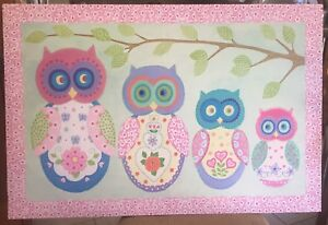 OWL WALL ART/PICTURE