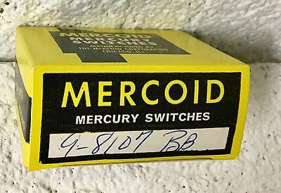 Mercoid 9-81 Mercury Switch 9-8107 Bb - Nos New Old Stock