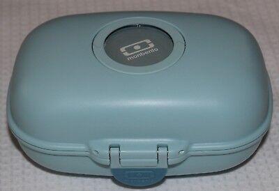 Monbento MB Gram Snackbox Lunchbox Brotdose hellblau indivudualisierbar