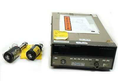 Boonton 4220-s3 Rf Power Meter With 51013 51015 Sensors 100khz To 18 Ghz