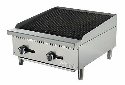 Migali C-cr24 24 Char Rock Broiler