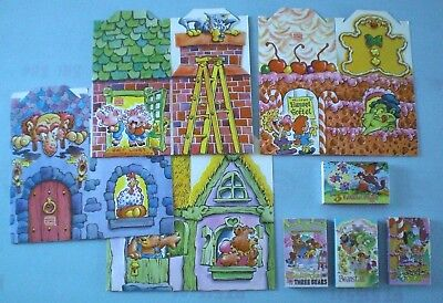 Burger King 1989 Fairy Tale Cassettes, Posters & Kids Meal Boxes - Complete -