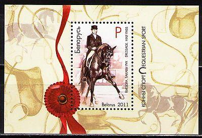 Belarus 2011 Sc778 $ 1.9  MiB87(868) 2.2 MiEu 1 SS  mnh  Equestrian Sport.