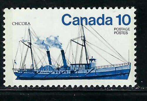CANADA - SCOTT 702 - VFNH - INLAND VESSELS - CHICORA - 1975