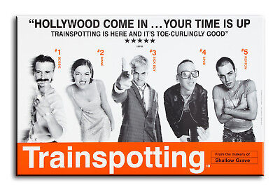 TRAINSPOTTING Minimalist Art Movie Poster Minimal Print by Posteritty A4//A3 Card