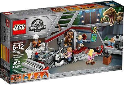 LEGO 75932 Jurassic Park Velociraptor Chase Jurassic World NEW SEALED Retired