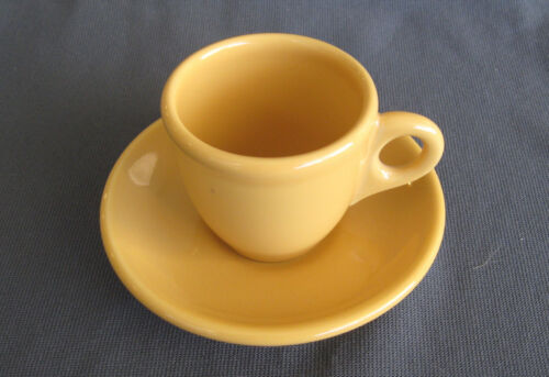 COORS POTTERY RESTAURANT WARE DEMITASSE CUP & SAUCER