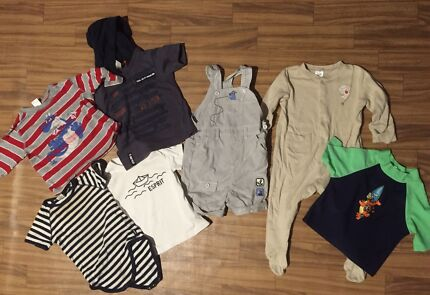 Size 1 boys mixed lot Capalaba Brisbane South East Preview