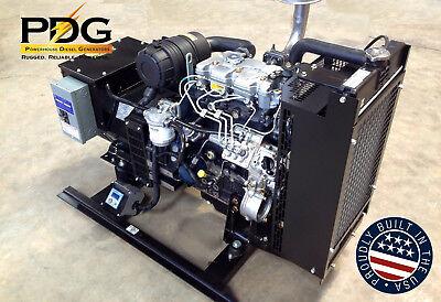 10 Kw Diesel Generator Perkins Epa Tier 4-3 Phase