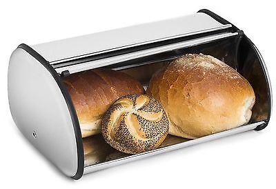 Stainless Steel Bread Box Storage Kitchen Container Food Container Kitchen New @