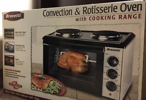 Convection and Rotisserie Oven with Cooking Range