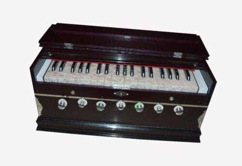 New Harmonium 7 Stopper Double Bellow 39 Key 440Hz Indian Musical Instrument