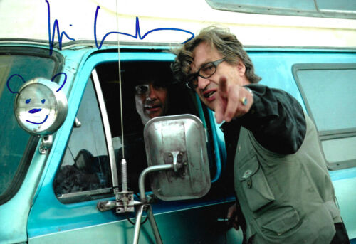 Wim Wenders Director signed 8x12 inch photo autograph