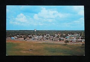 1960s Vista City View Higuey Dominican Republic Postcard